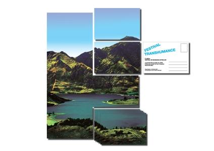 carte postale transhumance