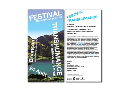 Flyer Festival Transhumance