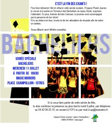 soiree des bacheliers istres